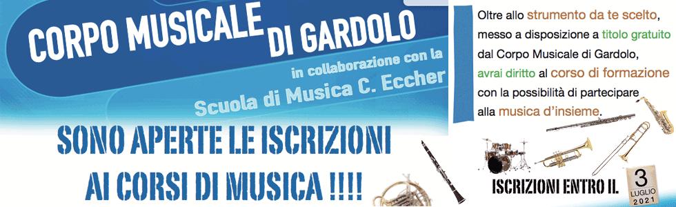 Iscrizione Corsi Musicali 2021-2022